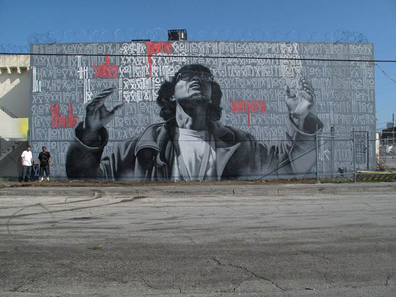 street art murals by el mac 1 Unbelievable Street Art Murals by El Mac