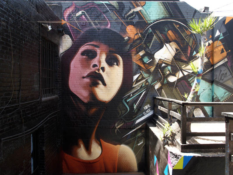 street art murals by el mac 12 Unbelievable Street Art Murals by El Mac