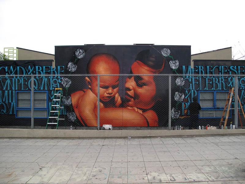street art murals by el mac 13 Unbelievable Street Art Murals by El Mac