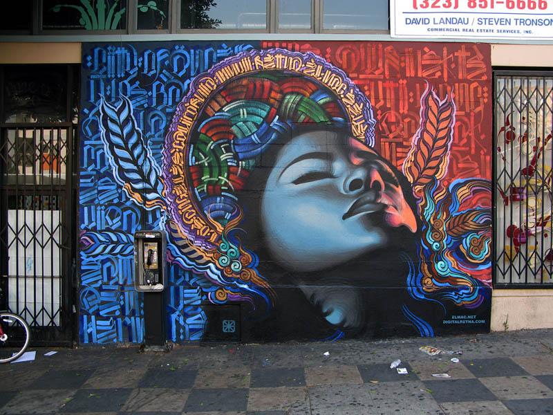 street art murals by el mac 2 Unbelievable Street Art Murals by El Mac