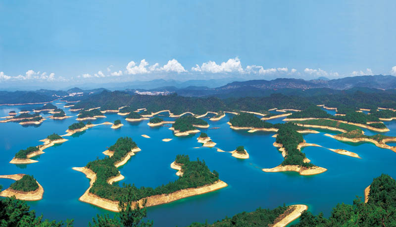 thousand island lake qindao china Picture of the Day: Thousand Island Lake in China
