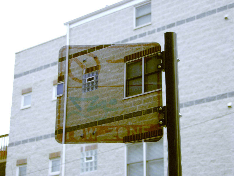 transparent invisible street signs by cayetano ferrer 4 Artist Turns Street Signs and Boxes Into Transparent Objects