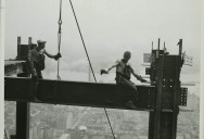 Photos of the Empire State Building Under Construction