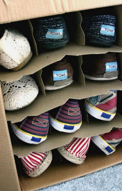 wine box for shoes 50 Creative Ways to Repurpose, Reuse and Upcycle Old Things
