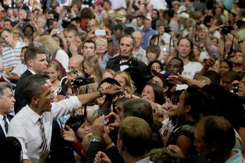 abraham lincoln at an obama rally The Shirk Report   Volume 170