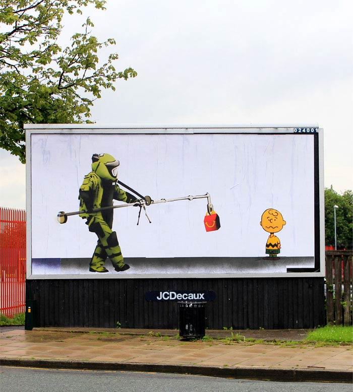 bill posters brandalism street art 2 Brandalism Project Subverts Billboards Across the UK [25 pics]