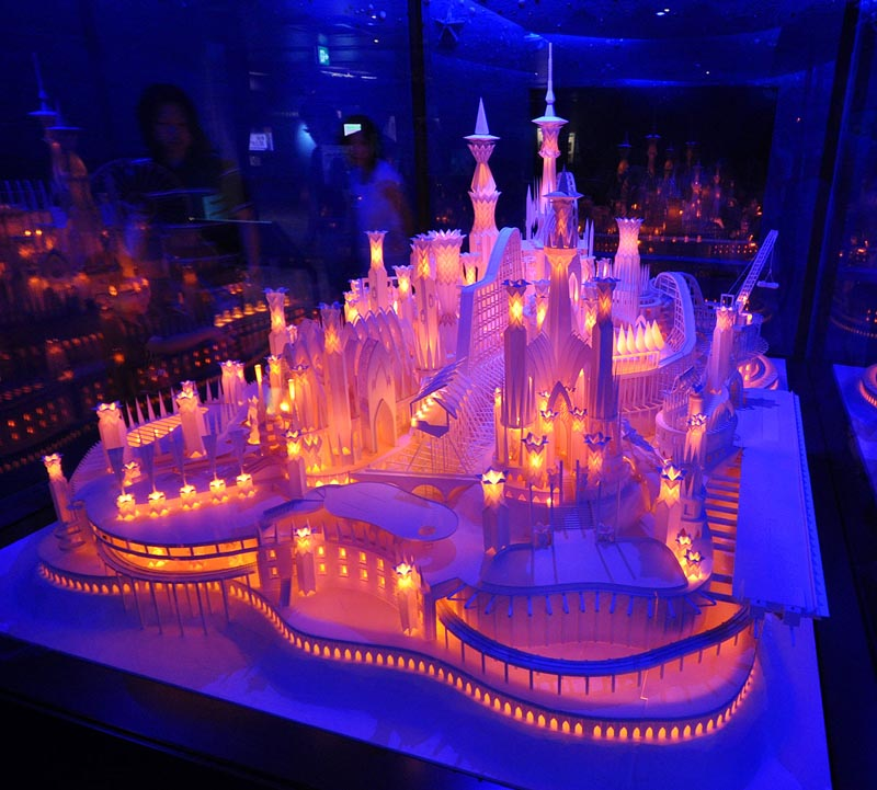 castel made from paper by wataru itou japan 2 An Incredible Castle Made from Paper