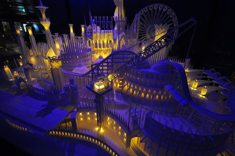 castel made from paper by wataru itou japan 8 An Incredible Castle Made from Paper