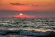 Picture of the Day: The Chicago Skyline from Indiana