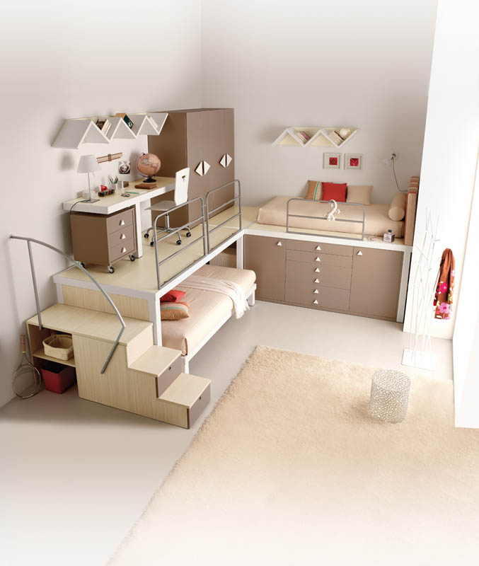 efficient space saving furniture for kids rooms tumidei spa 7 12 Space Saving Furniture Ideas for Kids Rooms