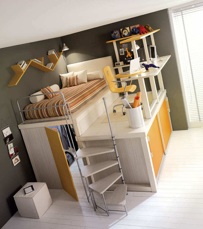 efficient space saving furniture for kids rooms tumidei spa 9 This Reading Net is for Kids. I Wish it Was for Adults!