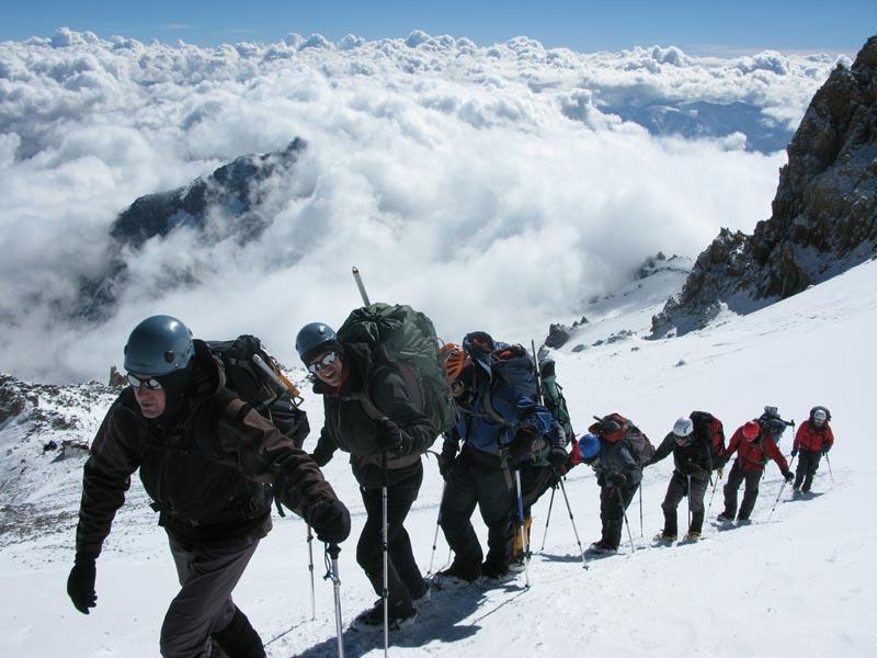 en route to aconcagua summit A Photo Tour of the Tallest Mountains in Poland
