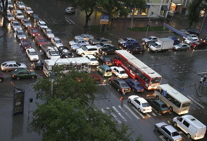 everyone stuck at an intersection The Shirk Report   Volume 171