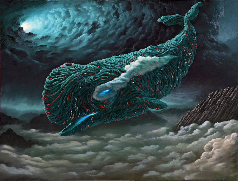 fulviodipiazza magmawhale Mind Blowing Oil Paintings by Fulvio di Piazza