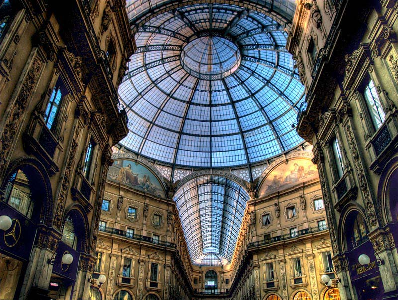 galleria vittorio emanuele ii milan 1 Houses Built on Roof of Shopping Mall in China