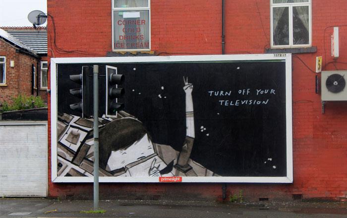 ghost patrol brandalism street art Brandalism Project Subverts Billboards Across the UK [25 pics]
