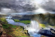 Picture of the Day: Hafragilsfoss Waterfall, Iceland