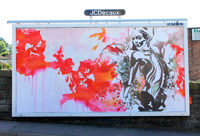 hannah adamaszek brandalism street art Brandalism Project Subverts Billboards Across the UK [25 pics]