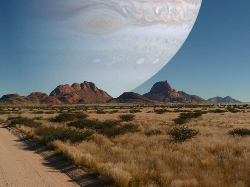 if jupiter was as close to earth as the moon The Top 75 Pictures of the Day for 2012