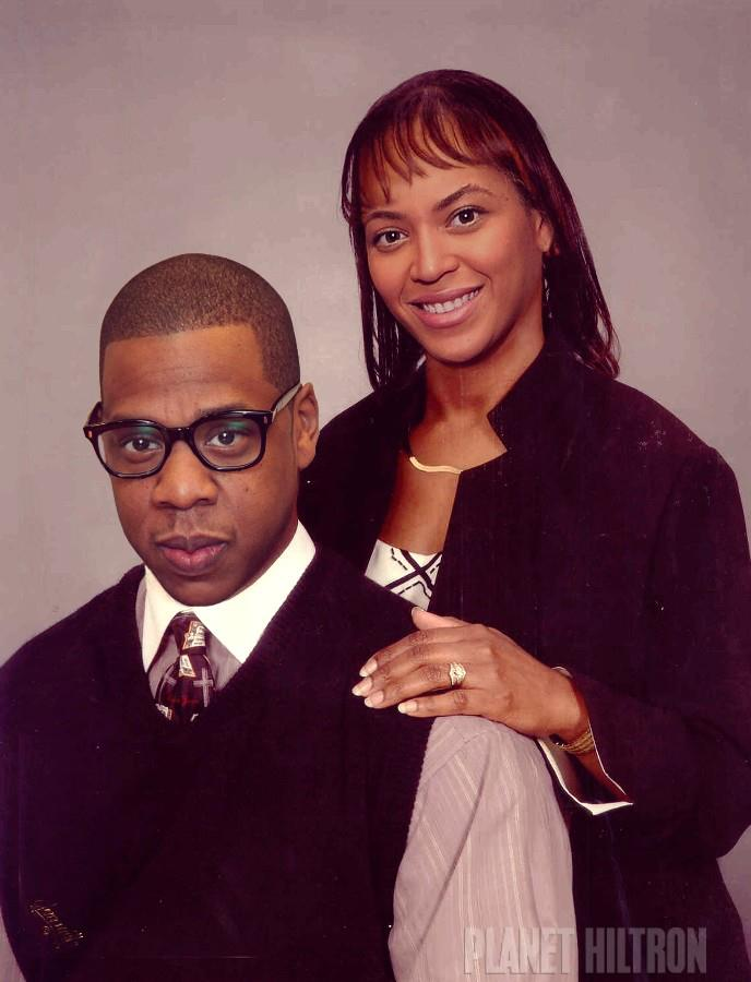 jay z and beyonce photoshopped funny celebrity make under 18 Hilarious Celebrity Make Unders Using Photoshop