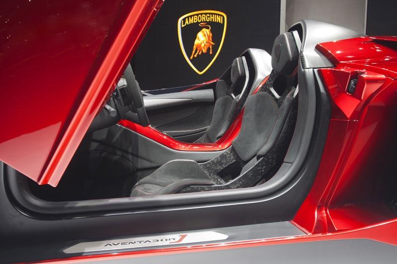 lamborghini aventador j geneva real pictures 10 The Only Lamborghini Aventador J In Existence