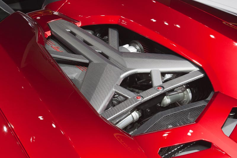 lamborghini aventador j geneva real pictures 11 The Only Lamborghini Aventador J In Existence