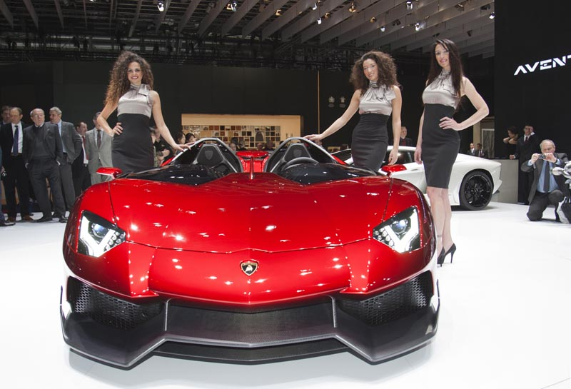 lamborghini aventador j geneva real pictures 14 The Only Lamborghini Aventador J In Existence
