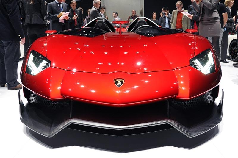 lamborghini aventador j geneva real pictures 3 The Only Lamborghini Aventador J In Existence