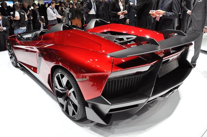 lamborghini aventador j geneva real pictures 5 The Only Lamborghini Aventador J In Existence