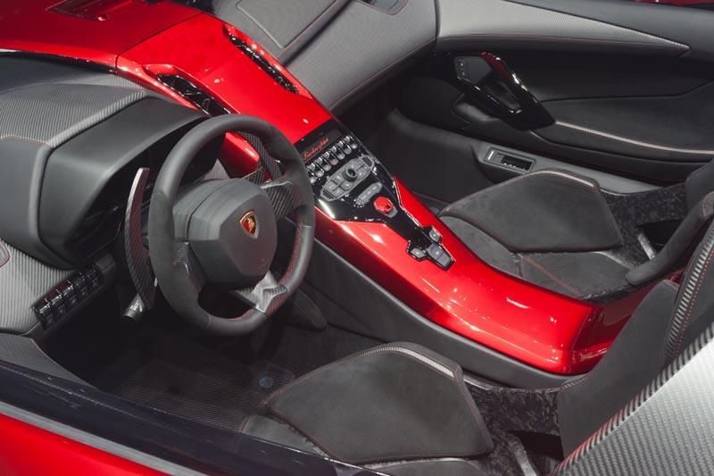 lamborghini aventador j geneva real pictures 8 The Only Lamborghini Aventador J In Existence