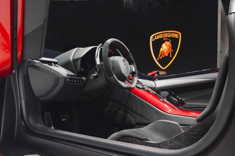 lamborghini aventador j geneva real pictures 9 The Only Lamborghini Aventador J In Existence