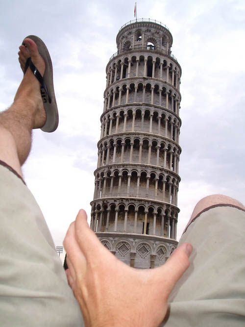 leaning tower of pisa funny 11 Ten Alternatives to Leaning on the Tower of Pisa