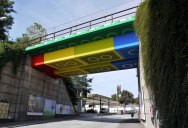 Picture of the Day: LEGO Bridge in Germany by Megx