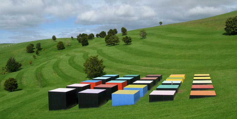 leon van den eijkel red cloud confrontation in landscape gibbs farm 1 The Incredible Sculptures of Gibbs Farm