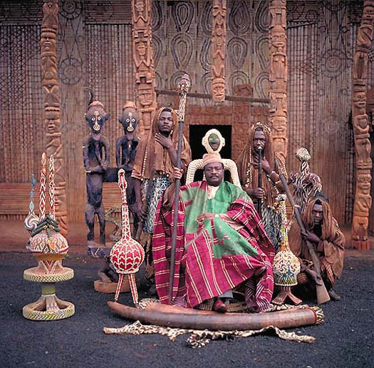 portrait of NGIE KAMGA JOSEPH – Fon of Bandjun  (Cameroon) by daniel lane