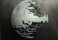 The Death Star Made From a Ping Pong Ball