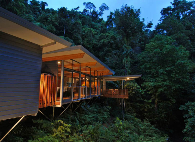 rainforest tree house mmp architects cairns australia 1 The Rainforest Tree House in Cairns, Australia