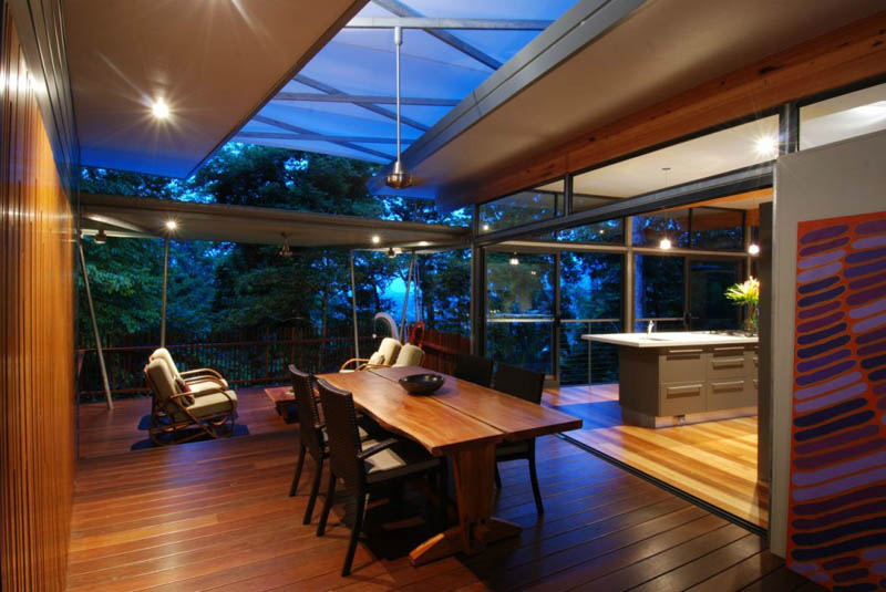 rainforest tree house mmp architects cairns australia 6 The Rainforest Tree House in Cairns, Australia