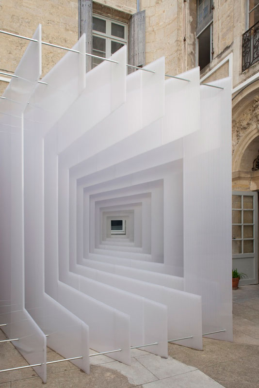 reframe cube portrait installation 4 Art Installation in France Takes on Multiple Forms