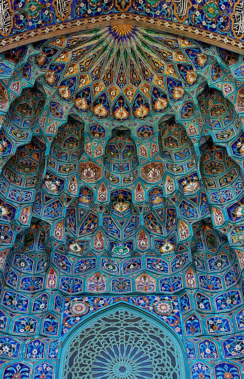 saint petersburg mosque portal front entrance doorway Picture of the Day: Entrance to the Saint Petersburg Mosque