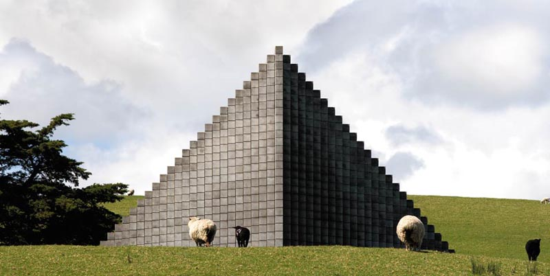 sol lewitt pyramid gibbs farm 1 The Incredible Sculptures of Gibbs Farm