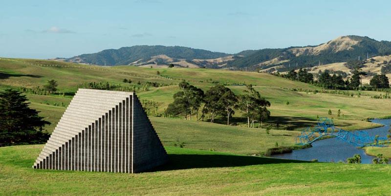 sol lewitt pyramid gibbs farm 2 The Incredible Sculptures of Gibbs Farm