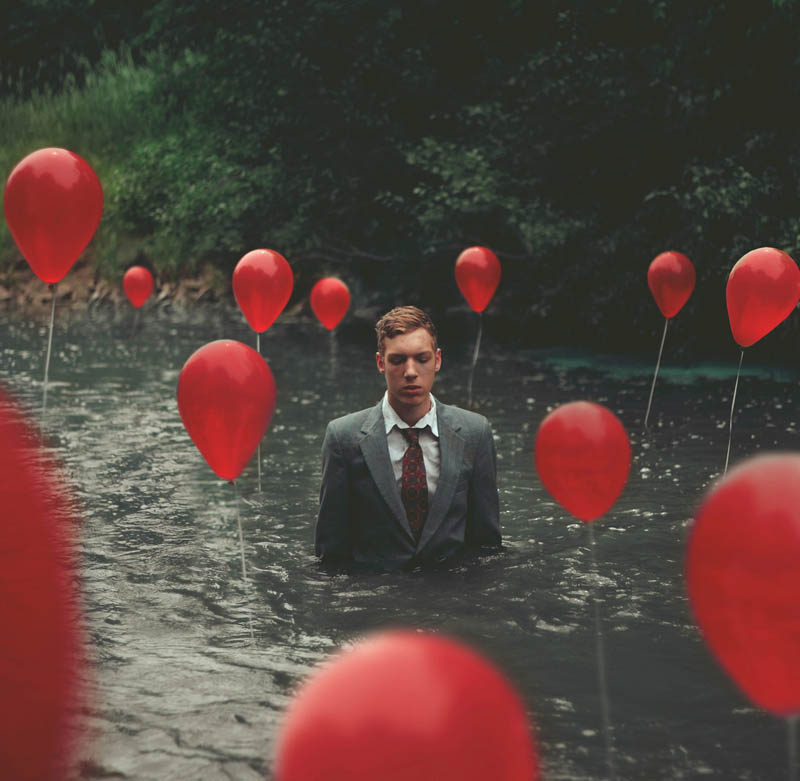 surreal self portraits and photo manipulations by kyle thompson 4 Surreal Self Portraits by Kyle Thompson