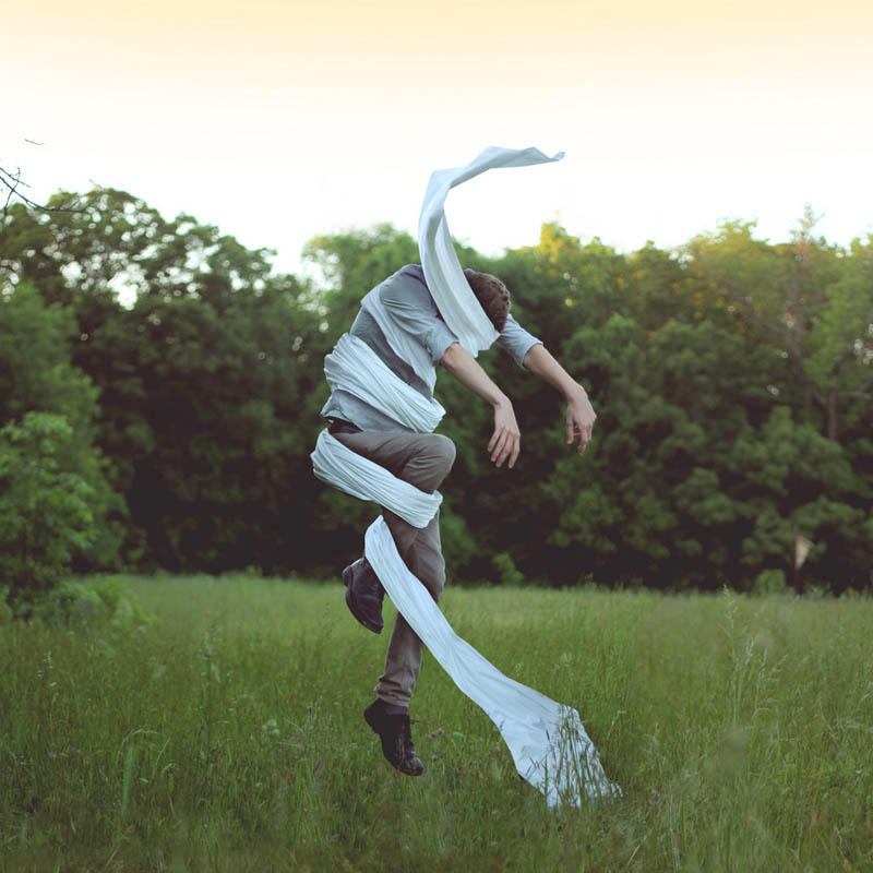 surreal self portraits and photo manipulations by kyle thompson 6 Surreal Self Portraits by Kyle Thompson