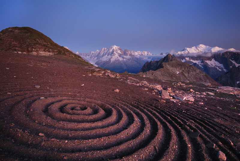 Beautiful Land Art by Sylvain Meyer