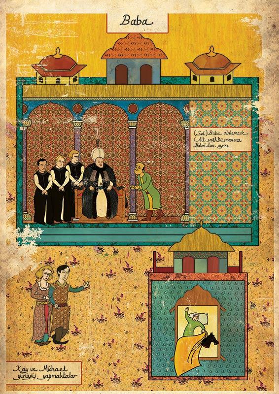 the godfather movie as ottoman motif 11 Classic Movie Scenes as Ottoman Motifs