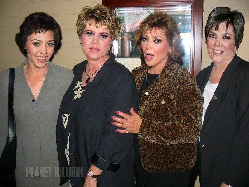 the kardashians photoshopped funny celebrity make under 18 Hilarious Celebrity Make Unders Using Photoshop