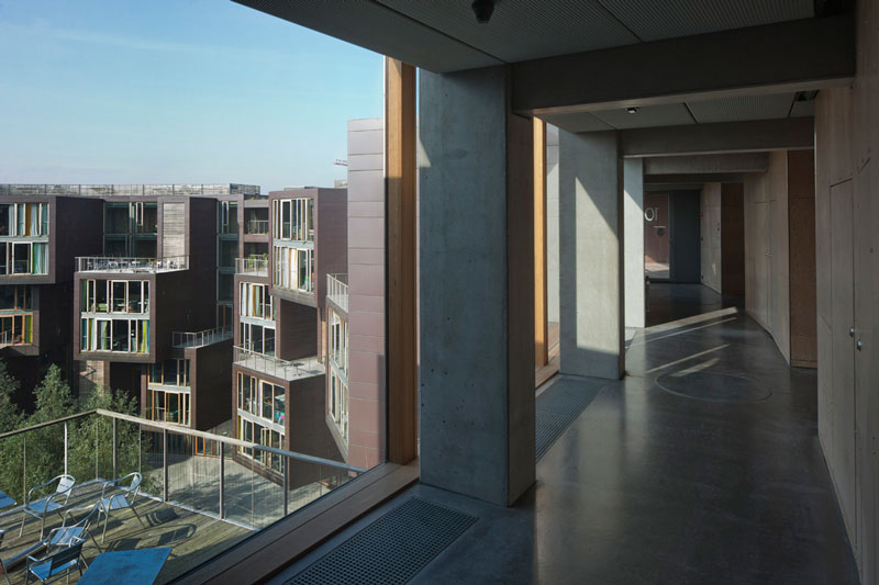 tietkenkollegiet circular residence student dorm copenhagen denmark 7 The Worlds Coolest University Dorm