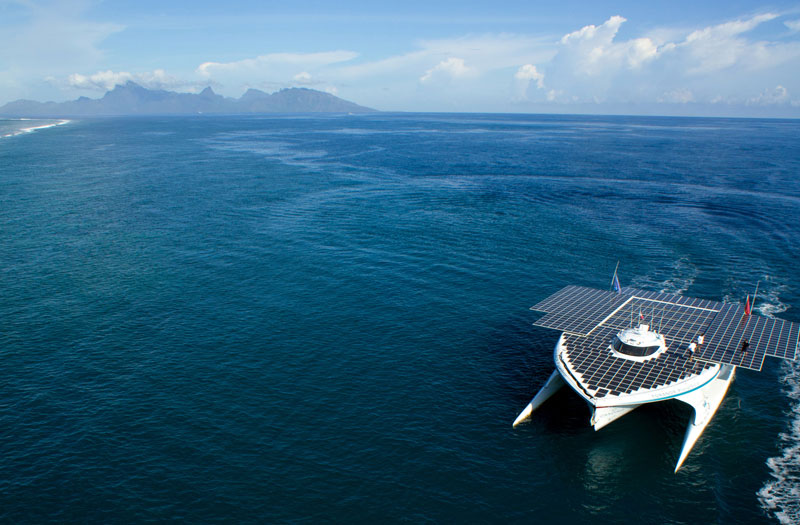 turanor planetsolar boat first solar powered boat to circumnavigate the world 3 The Solar Powered Boat that Circumnavigated the World