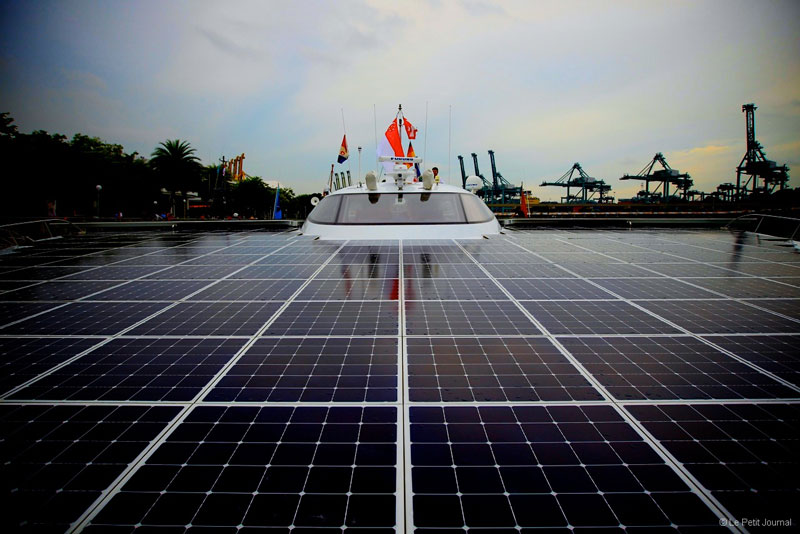 turanor planetsolar boat first solar powered boat to circumnavigate the world 4 The Solar Powered Boat that Circumnavigated the World